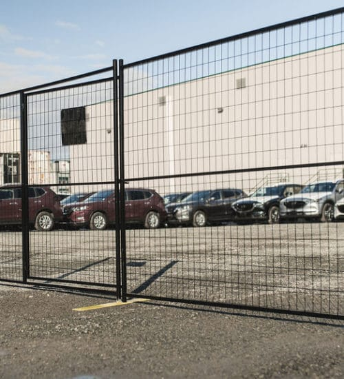 Temporary fencing AXF-0319-001 panel steel