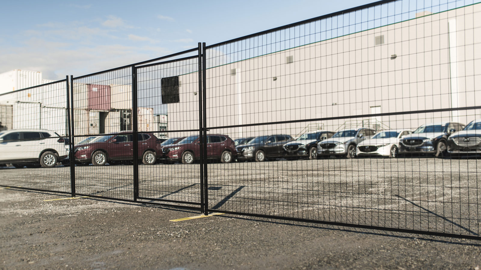 Temporary fencing for Business